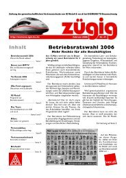 Betriebsratswahl 2006 Inhalt - IG Metall Braunschweig