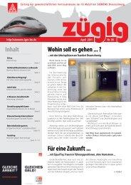 zügig 55 Ausgabe April 2011 - IG Metall Braunschweig