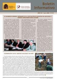 Junio 2005 - Instituto Geológico y Minero de España