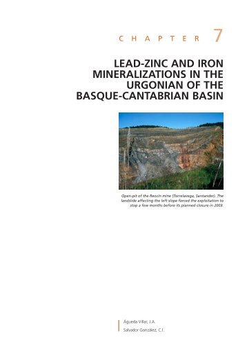 Chapter 7: Lead-zinc and iron mineralization in the Urgonian of the ...