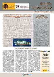 septiembre 2005 - Instituto Geológico y Minero de España