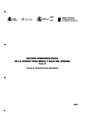 estudio hidrogeológico - Instituto Geológico y Minero de España