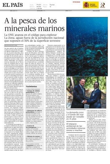 vida&artes - Instituto Geológico y Minero de España