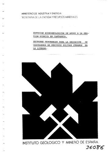 3608'6 - Instituto Geológico y Minero de España