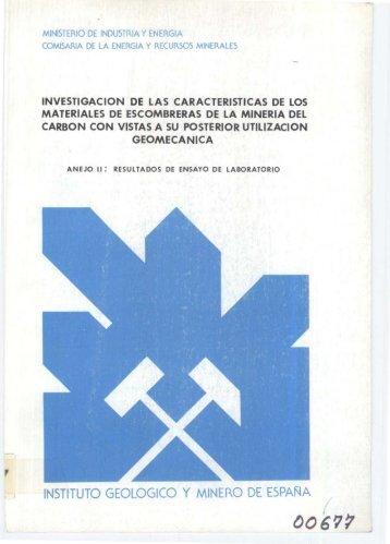 PDF - Instituto Geológico y Minero de España