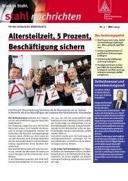 Flugblatt Stahl Ost (PDF) - IG Metall Bezirk Berlin-Brandenburg ...