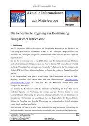 Deutsche Übersetzung der tschechischen Regelung