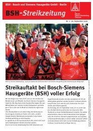 Streikzeitung Nr. 02 - IG Metall Bezirk Berlin-Brandenburg-Sachsen