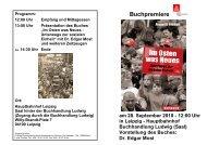 Flyer zum Buch - IG Metall Bezirk Berlin-Brandenburg-Sachsen