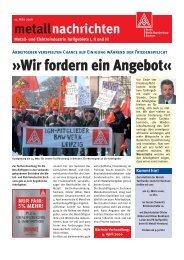 Wir fordern ein Angebot« - IG Metall Bezirk Berlin-Brandenburg ...