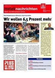 Wir wollen 6,5 Prozent mehr - IG Metall Bezirk Berlin-Brandenburg ...