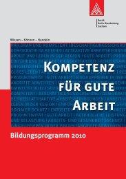KompEtEnz F R GutE ARbEit - IG Metall Bezirk Berlin-Brandenburg ...