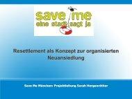 Die Save Me Kampagne