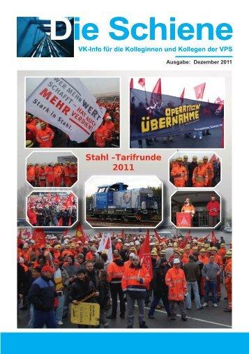 2011-12 Die Schiene - IG Metall Salzgitter-Peine