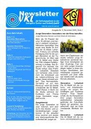 2009-05 Newsletter - IG Metall Salzgitter-Peine