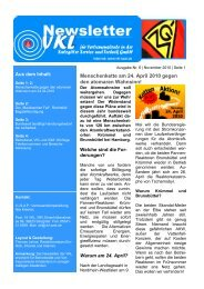 2010-06 Newsletter - IG Metall Salzgitter-Peine