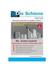 2009-01 Die Schiene - IG Metall Salzgitter-Peine