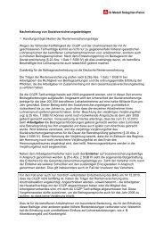Nacherhebung von Sozialversicherunsbeiträgen - IG Metall ...