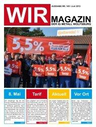 MAGAZIN - IG Metall Wolfsburg