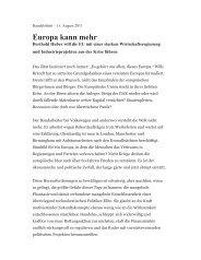 Europa kann mehr - IG Metall Wolfsburg