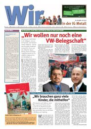 Layout-fast fertig - IG Metall Wolfsburg