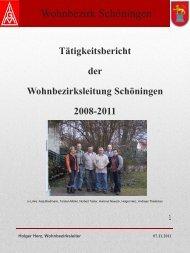 Wohnbezirk Schöningen - IG Metall Wolfsburg