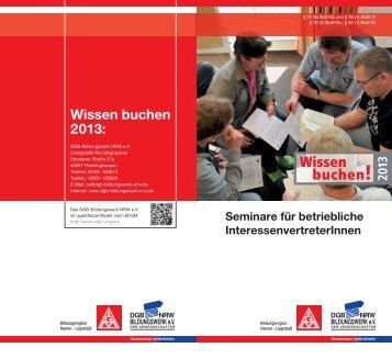 Hamm-Lippstadt 2013_DEMO IGM BR 06 - der Servicegesellschaft ...