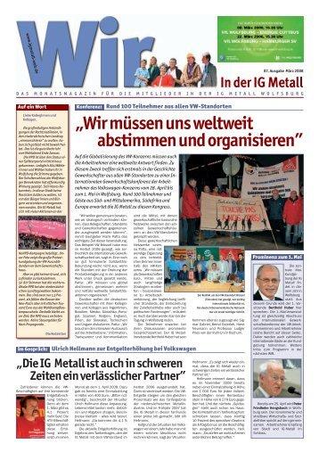 """""""Wir müssen uns weltweit abstimmen und organisieren"""" - IG Metall ..."""