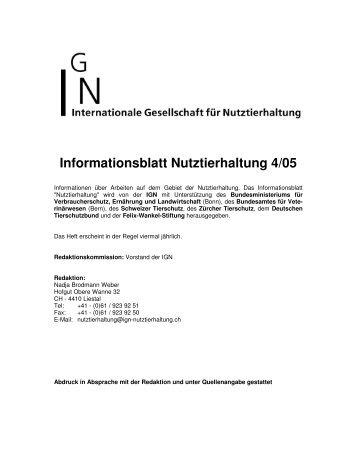 Heft 4/05 als PDF-Dokument - Internationale Gesellschaft für ...