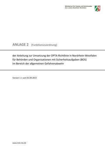 2013-08-31 Anleitung zur OPTA-Richtlinie NRW - ANLAGE 2 ...