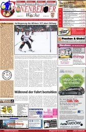 Tages-Hits! - Cronenberger Woche