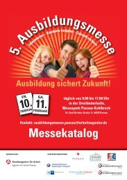 Messekatalog - Berufsfachschulen Grafenau
