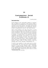 Contemporary Social Problems-II - IGNOU