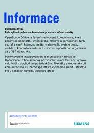 Prospekt OpenScape Office