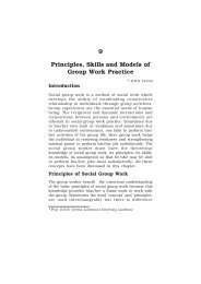 Principles, Skills and Models of Group Work Practice - IGNOU
