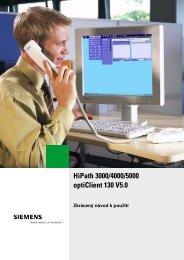 Návod pro optiClient 130 V5.0