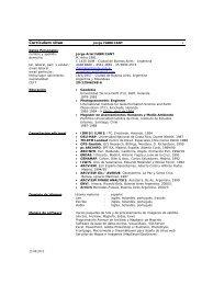 Currículum vitae - SIT SANTACRUZ | Sistema de Información ...