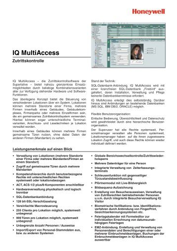 IQ MultiAccess