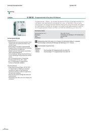 System 99 Zentrale Komponenten Steuerung Leistungsmerkmale ...