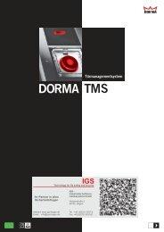 Dorma-Türmanagementsystem TMS - IGS-Industrielle ...
