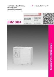 EMZ 5004 - IGS-Industrielle Gefahrenmeldesysteme GmbH
