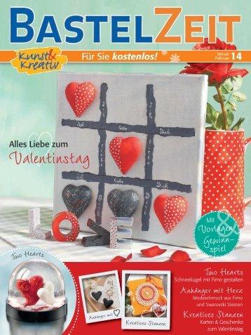 Bastelzeit Magazin Januar / Februar 2014 - Kunst und Kreativ