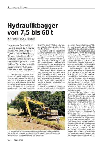 30-35 Baumaschinen (Page 30) - Bauverlag