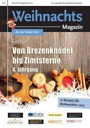 Weihnachtsheft 2013 - Die Stiftung
