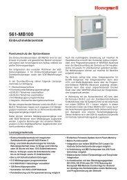 Einbruchmelderzentrale 561-MB100