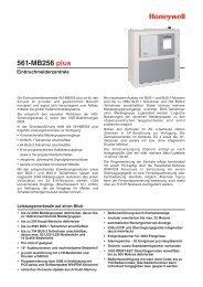 Einbruchmelderzentrale 561-MB256 plus - IGS-Industrielle ...