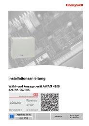 und Ansagegerät AWAG 4200 - IGS-Industrielle ...