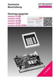 Übertragungsgeräte comline 3116 und 3216 - Technische ...