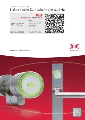 Produktinformation DOM Protector (PDF) - IGS-Industrielle ...