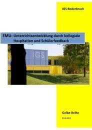 EMU: Unterrichtsentwicklung durch kollegiale Hospitation und ...